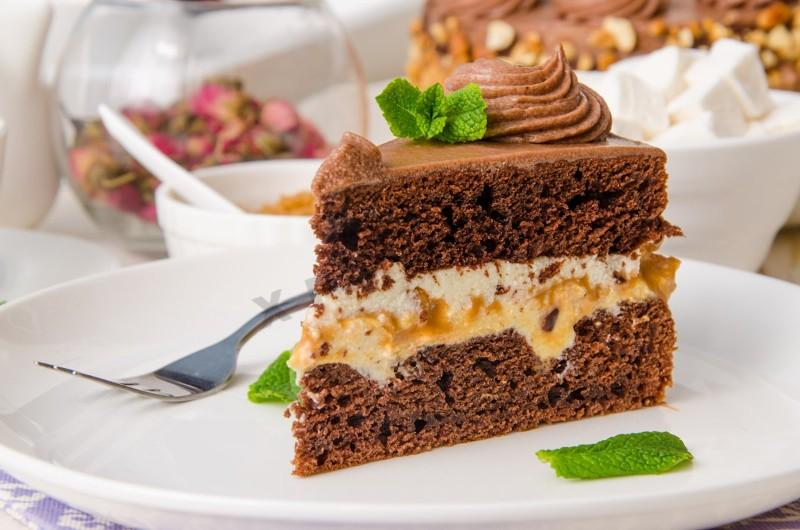 Торт сникерс рецепт классический пошаговый